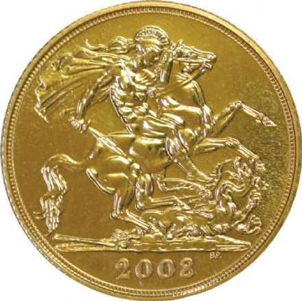 2008 British Gold Sovereign
